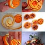 Kilka metod na stylowe obieranie wigilijnych pomarańczy.
